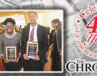Students receive scholarships as historic event remembered
