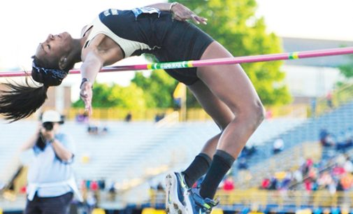 Wake's Caldwell sets sights  on setting school record