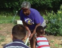 Master Gardener Irma Jackson Shares Love of Gardening with Children