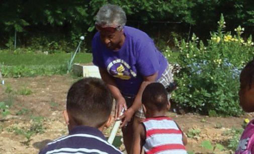 Master Gardener Irma Jackson Shares Love of Gardening with Children