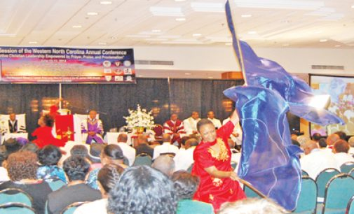 AME conference attracts faithful