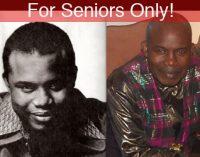 For Seniors Only!  -Senior Spotlight – Joe Anderson