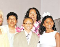 Cousins share baptismal waters