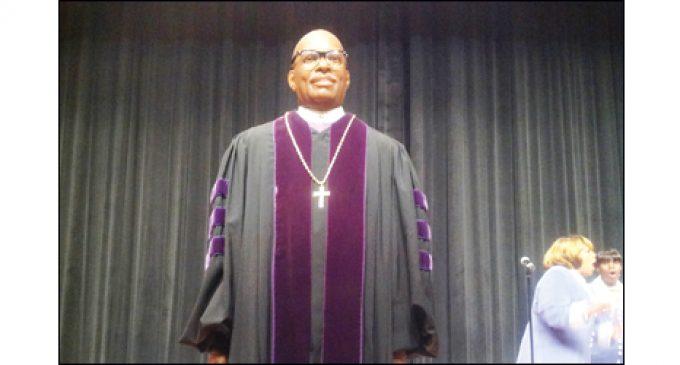 Wax Museum unveils likeness of Bishop Battle