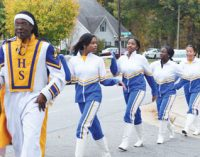 Carver seniors march to the polls to vote for first time