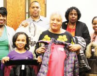 Girl leads coat campaign for homeless students