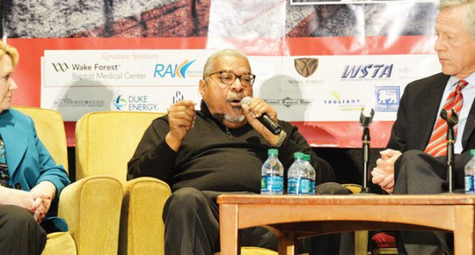 Is racism America's Berlin Wall? Question tackled at MLK Jr. Day breakfast