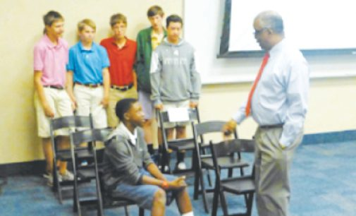 FCDS's Allen tells students about witnessing history