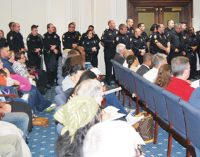 Police officers make direct appeal to City Council