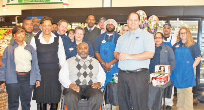 Grocer helps church fight hunger in Southeast Winston