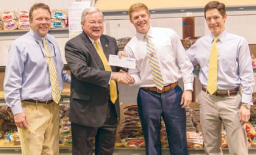 K&W throws food bank $10,000 lifeline