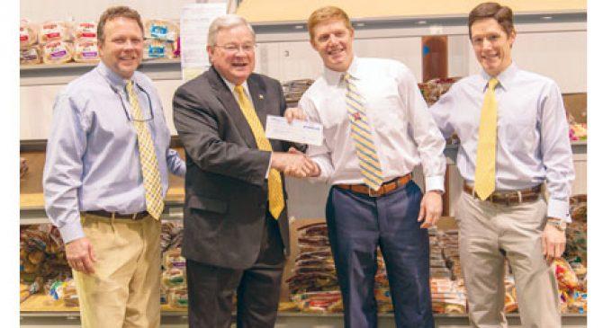 K&W throws food bank $10,000 lifeline