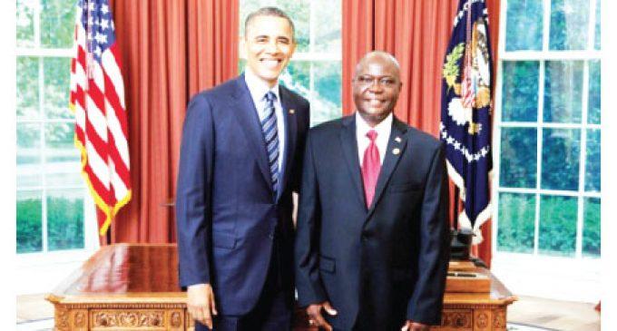 Liberian  Ambassador  coming to town