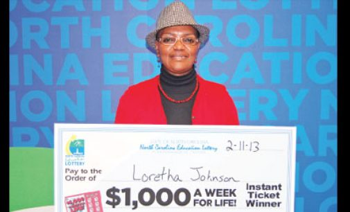 Nurse wins $1,000 a week for the rest of her life