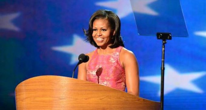 First Lady Rallies Black Democrats