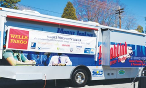 Mobile center designed to help residents prosper