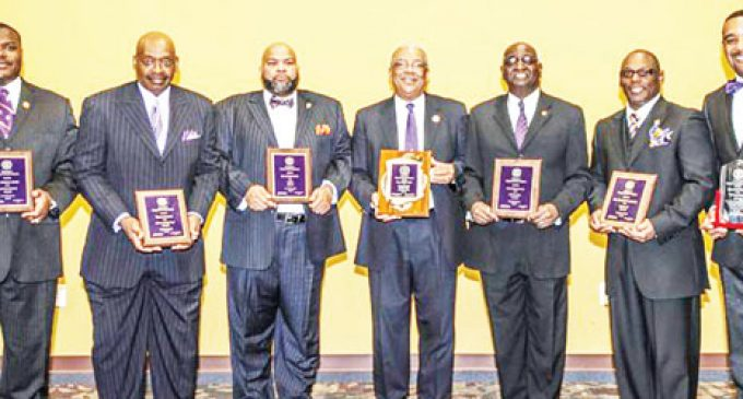 Men of high standards  honored by fraternity