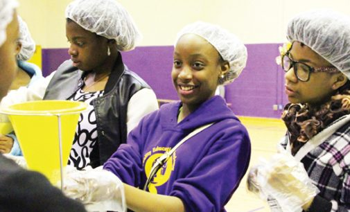 QEA helps on MLK Day, prepares art