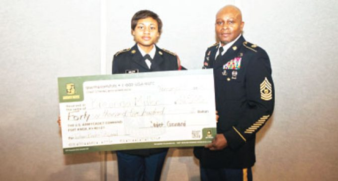 WSSU students receive full-ride  Army/ROTC scholarships