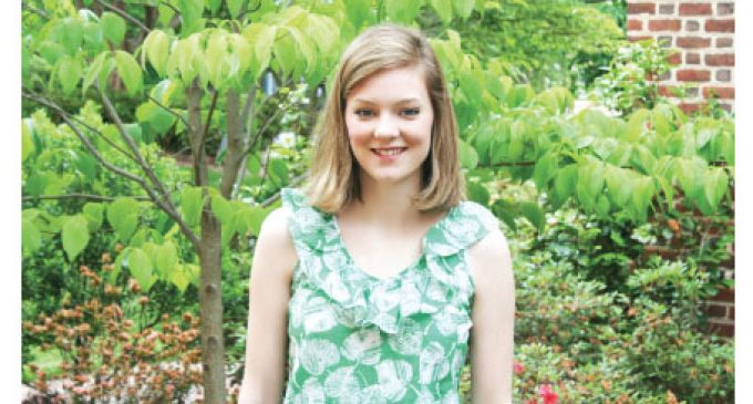 Salem College junior earns Congressional Gold Medal