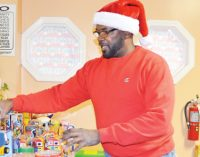 Youngs keep up their gift-giving tradition