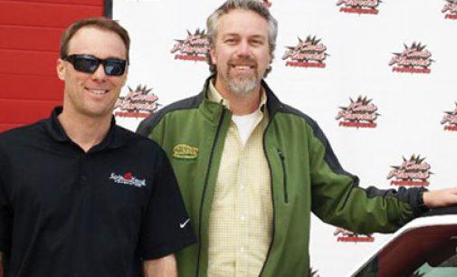 Local NASCAR star gives away pricey Camaro