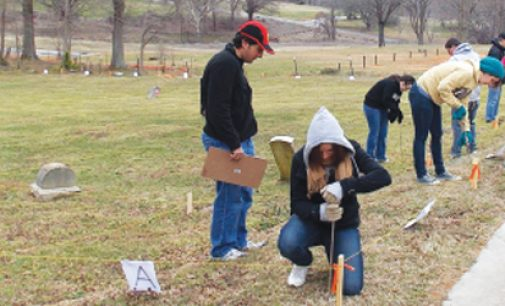 WFU students help cemetery reclamation effort