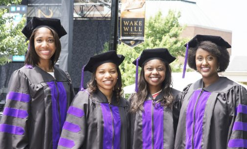 Black Wake Forest University women law school grads win awards