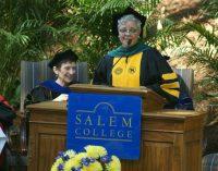 Speaker at Salem College urges graduates to dream big