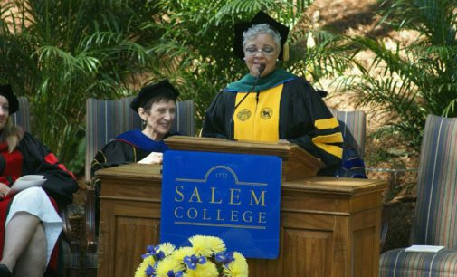 Speaker at Salem College urges graduates to dream big