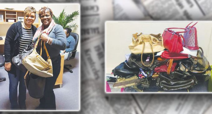 Gift of pocketbooks lifts spirit of homeless and abused women