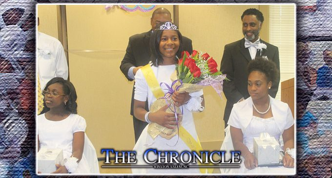 Mary L. Fair Gleaner Branch crowns queen