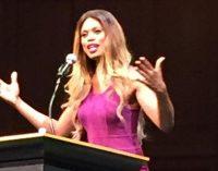 Actress and activist Laverne Cox  advocates transgender label for census