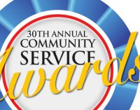 Chronicle Gives Service Awards to Community Leaders