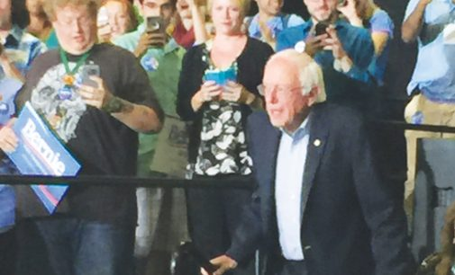 Bernie Sanders visits Greensboro, talks voters rights and minimum wage