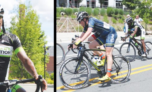 Cyclist  rediscovers  passion from years past