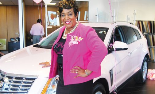 African American Mary Kay unit director receives pink Cadillac