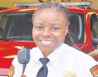 Moore becomes WSFD's first black female battalion chief