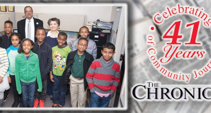 Students visit The Chronicle for up-close look