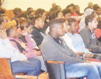 Carver High, WSSU kick off  mentoring and tutoring program