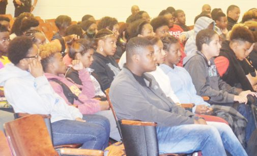 Carver High, WSSU kick off  mentoring and tutoring program