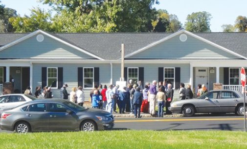 Habitat for Humanity dedicates first twin homes