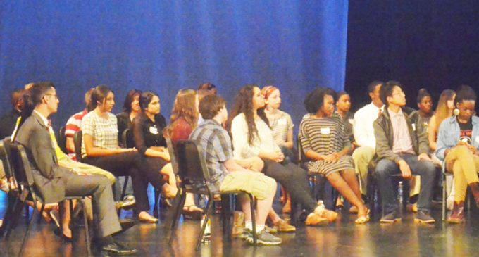 High schoolers discuss race relations at schools