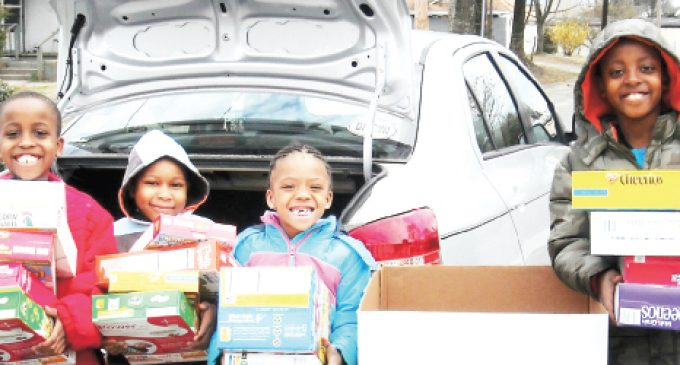 Cereal drive brings in 2,400 boxes