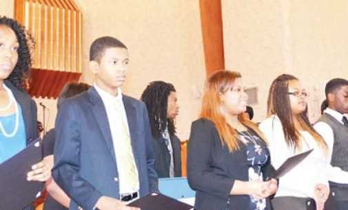 Students feted at annual emancipation program