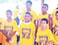Local boys attend Omega Psi Phi Fraternity Boys' Camp
