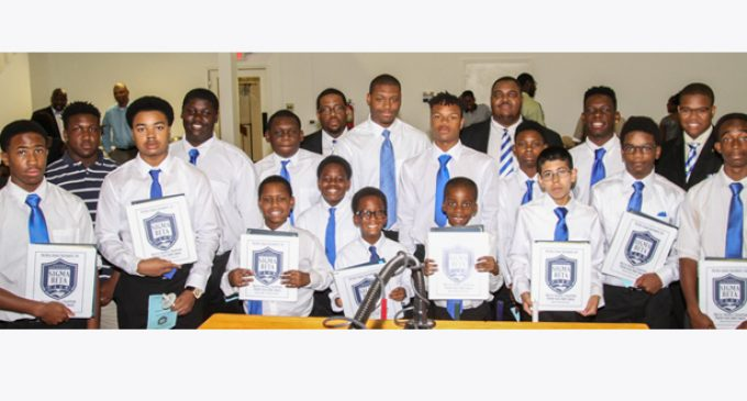 Sigma Beta Club inducts eight new members