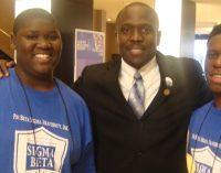Sigma Beta Club members attend national conference