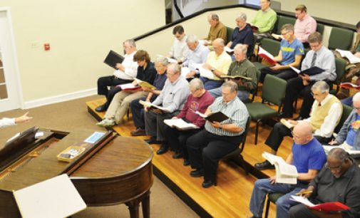 "Amateur singers begin preparing for ""Messiah"""