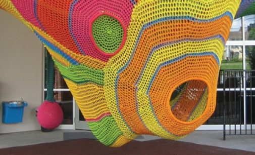 Crocheted attraction opens at Museum